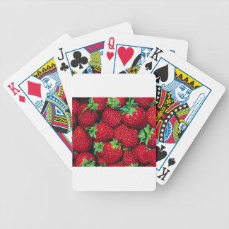 Strawberries Poker Deck