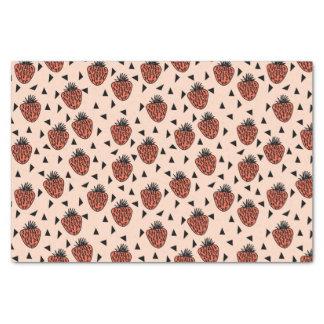 Strawberries Strawberry Blush Coral /Andrea Lauren Tissue Paper
