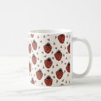 Strawberries Strawberry - Red Tri / Andrea Lauren Coffee Mug