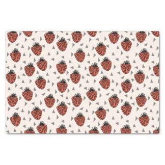 Strawberries Strawberry - Red Tri / Andrea Lauren Tissue Paper
