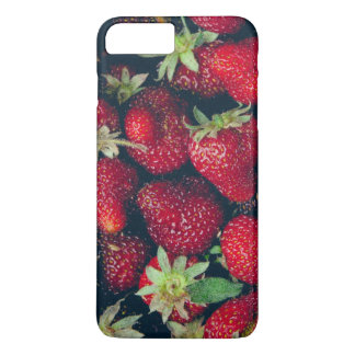 Strawberries Texture iPhone 7 Plus Case