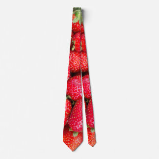 Strawberries Tie