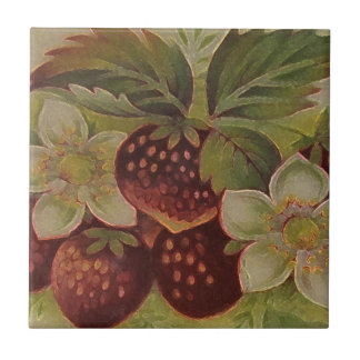 Strawberries Tile