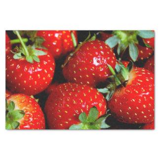 Strawberries Tissue Paper