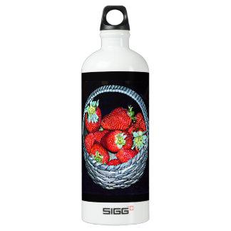 Strawberries Water Bottle