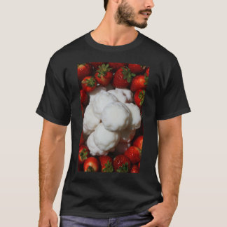 Strawberries with Marshmellow Cookies T-Shirt