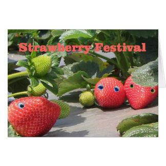 Strawberrry Festival Invitations