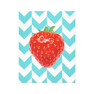 "Strawberry 11"" x 14, 1.5"", Canvas Print"