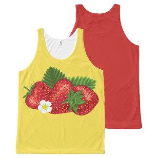 STRAWBERRY-3 All-Over-Print TANK TOP
