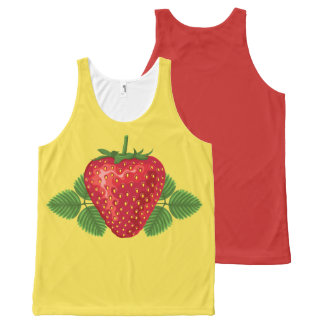 STRAWBERRY-4 All-Over-Print TANK TOP