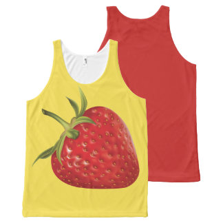 STRAWBERRY-5 All-Over-Print TANK TOP