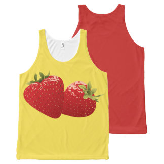 STRAWBERRY-6 All-Over-Print TANK TOP