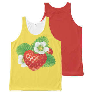 STRAWBERRY-7 All-Over-Print TANK TOP