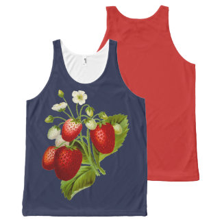 STRAWBERRY-8 All-Over-Print TANK TOP