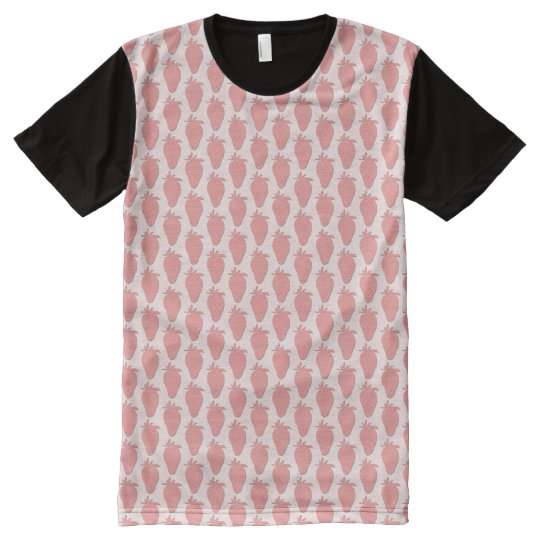 Strawberry All-Over-Print T-Shirt