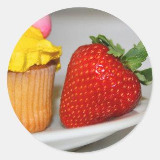 Strawberry And A Muffin Sticker