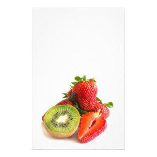 Strawberry and kiwi flyer