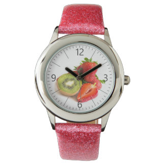 Strawberry and kiwi watch