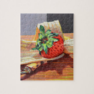 Strawberry Banana Split Jigsaw Puzzle