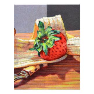 Strawberry Banana Split Letterhead
