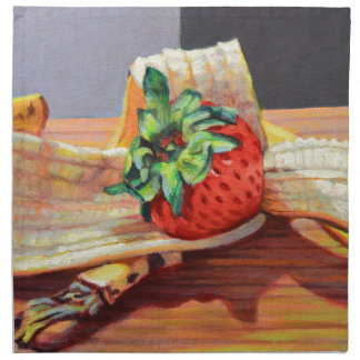 Strawberry Banana Split Napkin