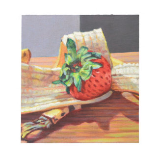 Strawberry Banana Split Notepad