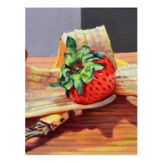 Strawberry Banana Split Postcard