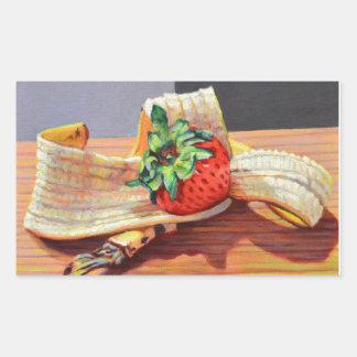 Strawberry Banana Split Sticker