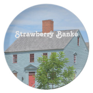 Strawberry Banke Party Plate