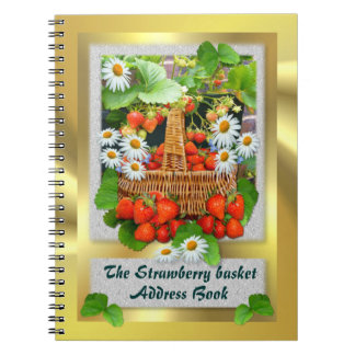Strawberry Basket ~ Address Book