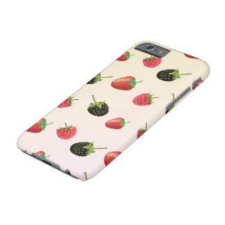 Strawberry, Blackberry, Raspberry: delicious fruit Barely There iPhone 6 Case