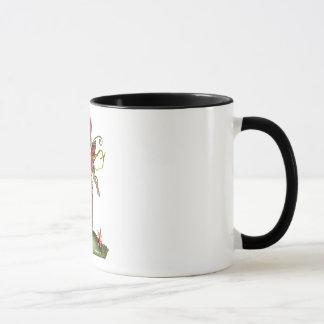 Strawberry Butterfly Fairy Mug