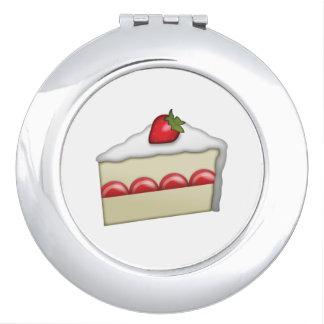 Strawberry Cake - Emoji Vanity Mirrors