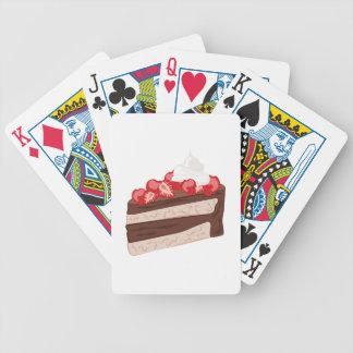 Strawberry Cake Poker Deck