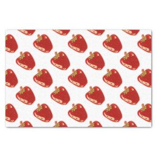 strawberry cartoon style illustration tissue paper