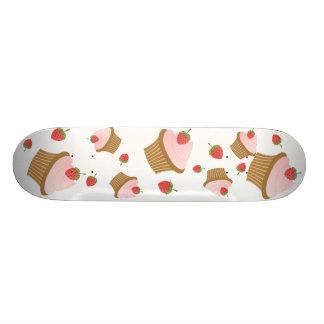 Strawberry Chocolate Cupcake Skate Boards
