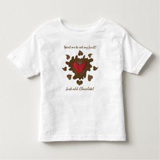Strawberry Chocolate Heart Kids Shirt