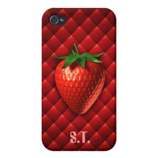 Strawberry  cover for iPhone 4