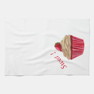 Strawberry Cupcake Kithcen Towel