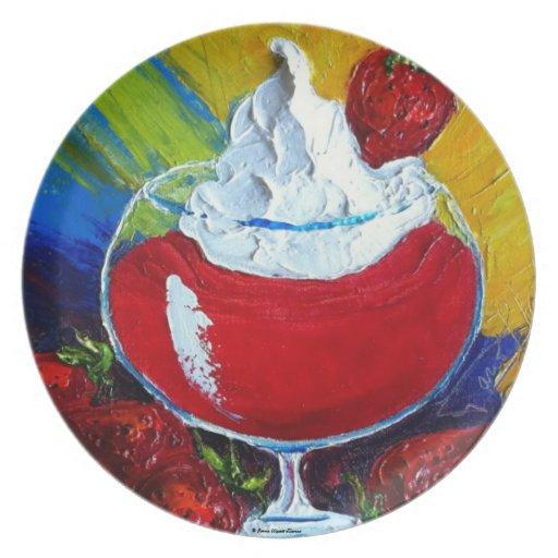 Strawberry Daiquiri  Plate