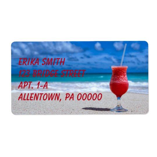 Strawberry Daiquiri Tropical Punch Caribbean Beach