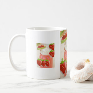 Strawberry daquiri drink women's coffee tea mug