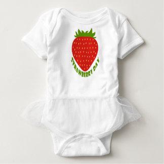 Strawberry Day - Appreciation Day Baby Bodysuit