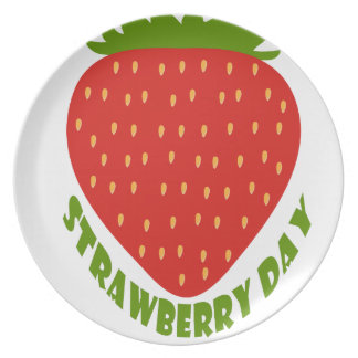 Strawberry Day - Appreciation Day Dinner Plates