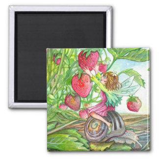 Strawberry Fairy Magnet