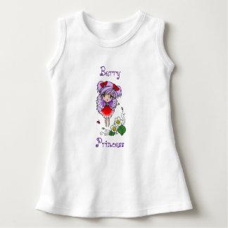 Strawberry Fairy Picnic Art Print Dress