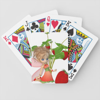 Strawberry Fairy Poker Deck