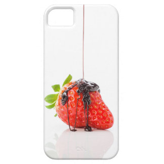 Strawberry falling to him fused chocolate case for the iPhone 5