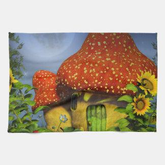 Strawberry fantasy house towel
