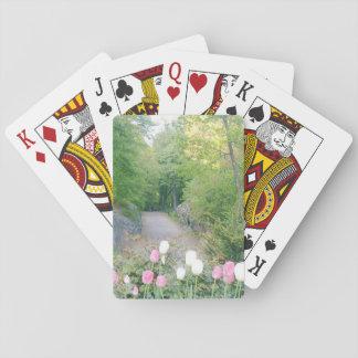 Strawberry Field by Ann Finster Poker Deck
